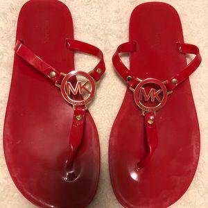 COPY - Michael Kors Red Sandals